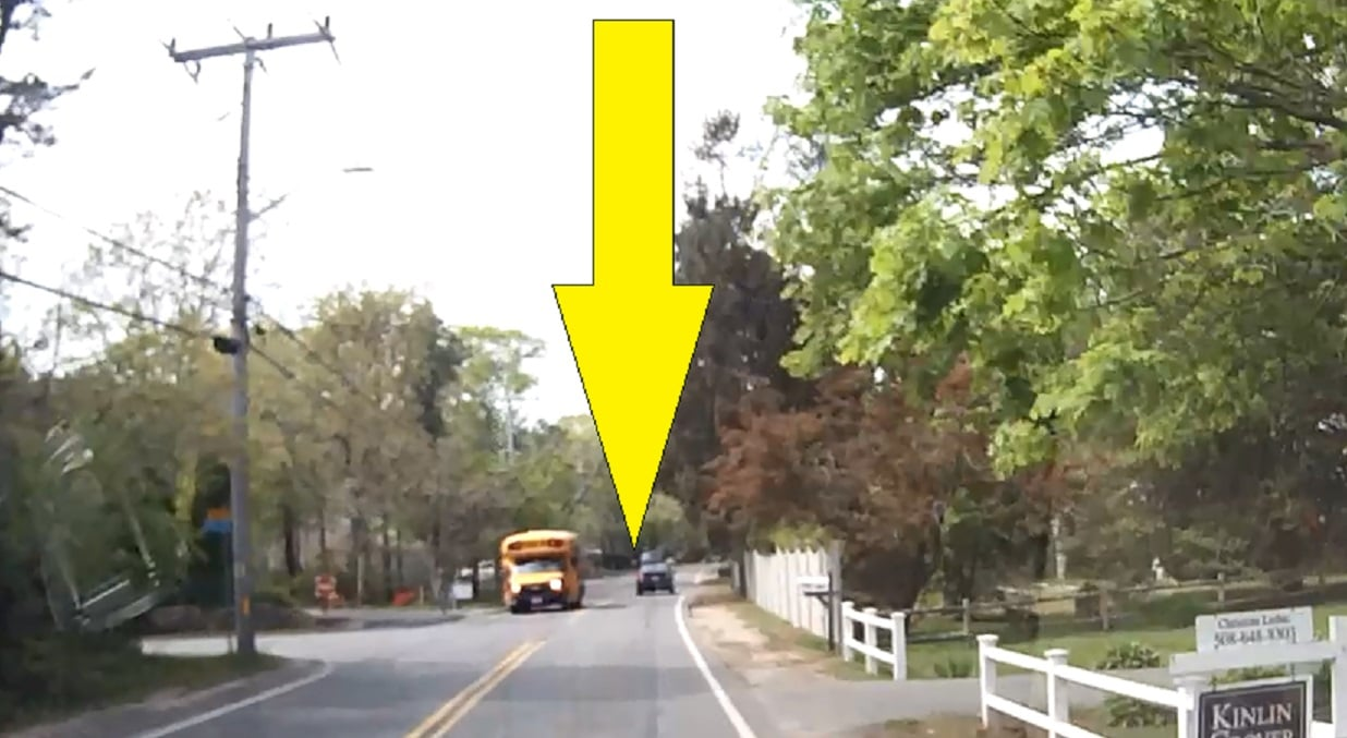 CAUGHT ON HN DASHCAM: Little doggie jumping out moving work van window…