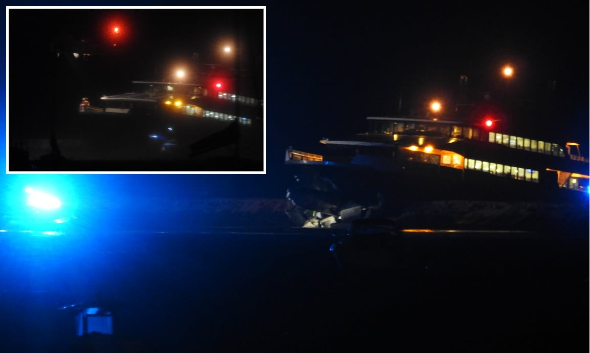 HN VIDEO:  High-speed ferry crashes into Hyannisport jetty… Coast Guard airlifts the injured…