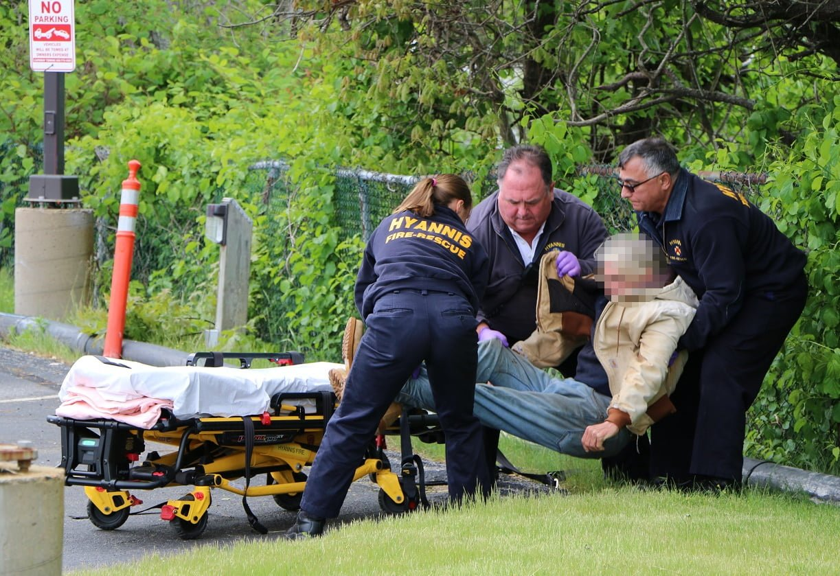 HN PHOTOS: Busy day for Hyannis Rescue…