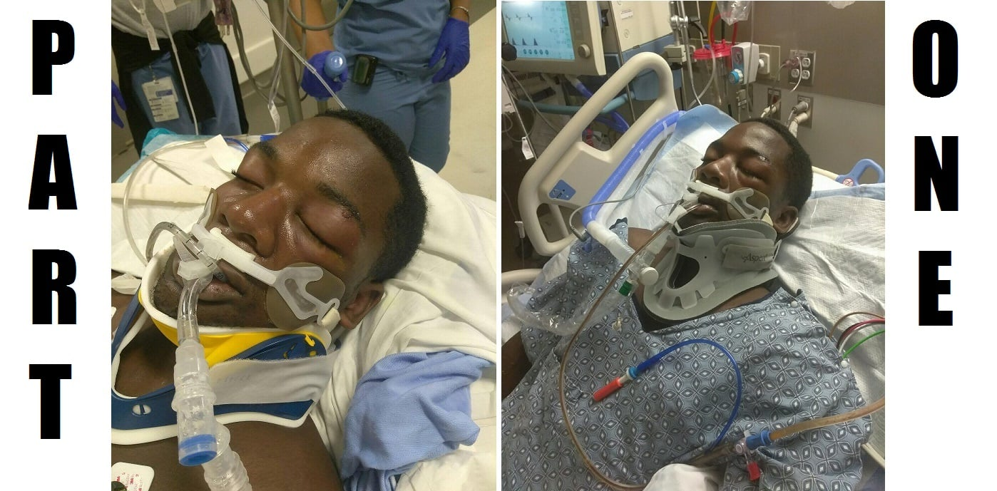 HN VIDEO: Mother explains why son allegedly bit officer's thumb… and wound up in coma… [PART 1 – DEVELOPING]