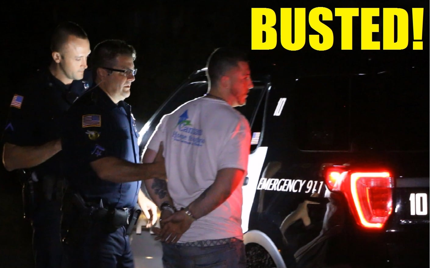 BARKING DOG ALERTS HOMEOWNERS:  28-year-old arrested after elderly couple encounter him inside their home… [HN SHOCK VIDEO]