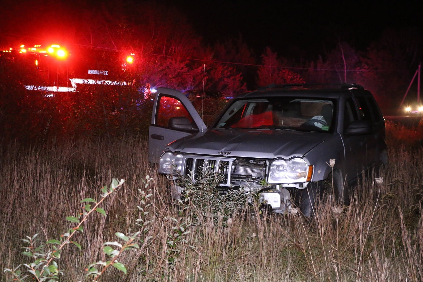 HN PHOTOS:  Driver took out hydrant before landing in field…