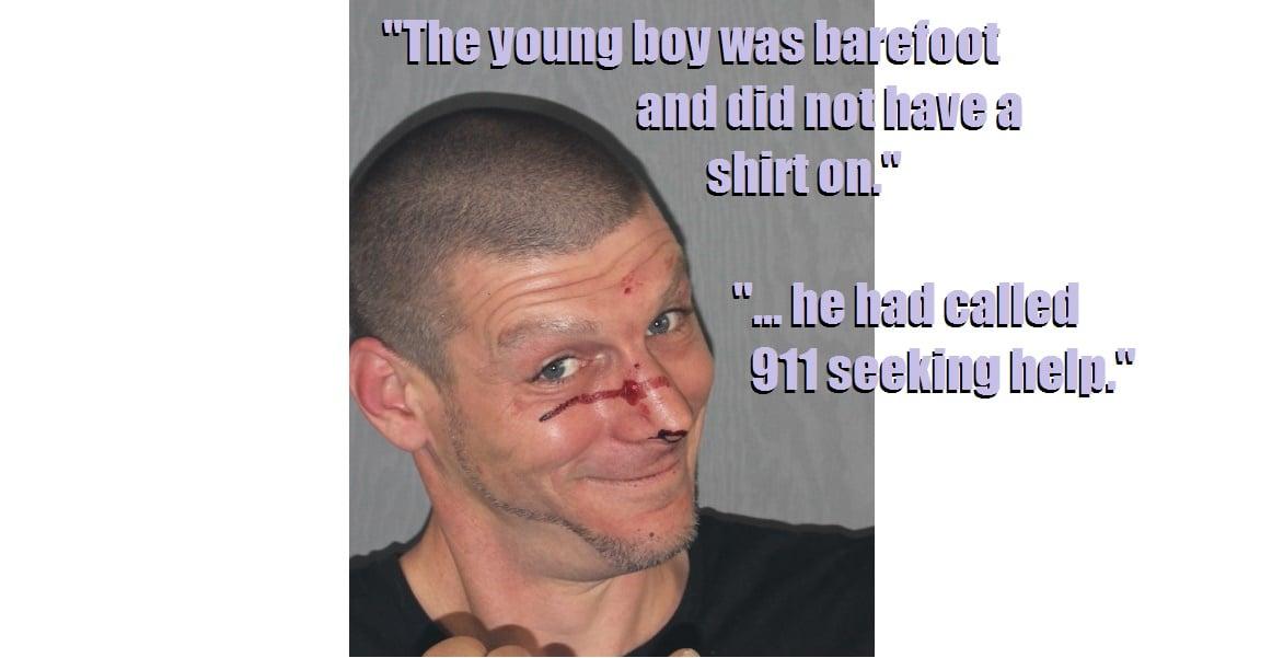 COPS:  Violent drunken man strangled officer with chain… officer out with shoulder injury…